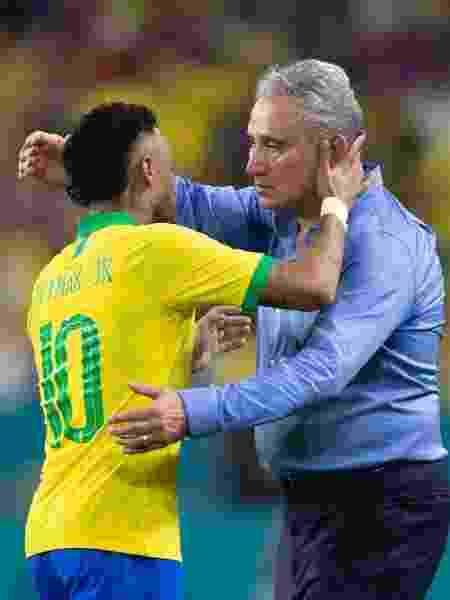 Neymar faz jus à escolha de Tite  -  -