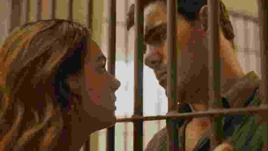 Betina (Isis Valverde) e Magno (Juliano Cazarré) de Amor de Mãe (Divulgação/TV Globo) - Divulgação/TV Globo
