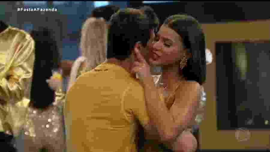 Jakelyne e Mariano (Reprodução: Record TV) - Reprodução / Internet