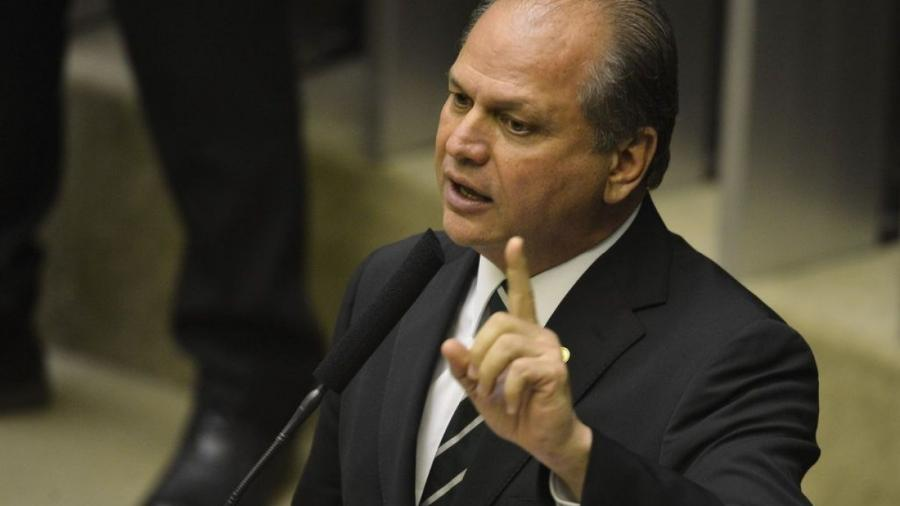 Deputado Ricardo Barros durante sessão de votação para presidente da Câmara dos Deputados.                              - Valter Campanato/Agência Brasil