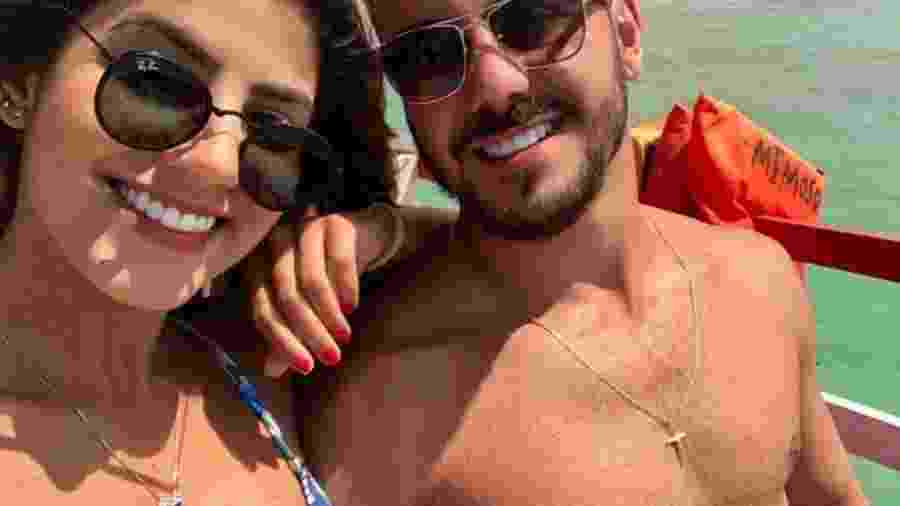 Hariany e o namorado, Paulo Henrique Pereira: relacionamento tem idas e vindas desde antes de A Fazenda 11 - Hariany e o namorado Paulo Henrique Pereira (Foto: Reprodução/Instagram)