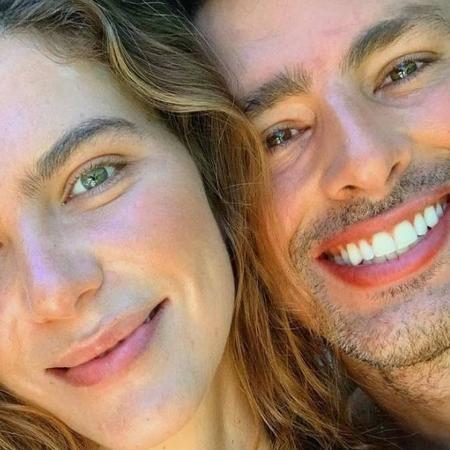 Mariana Goldfarb e Cauã Reymond  - Reprodução/Instagran
