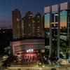 Foto aérea do novo local de eventos drive-in do Shopping VillaLobos, em São Paulo (Foto: Divulgação)