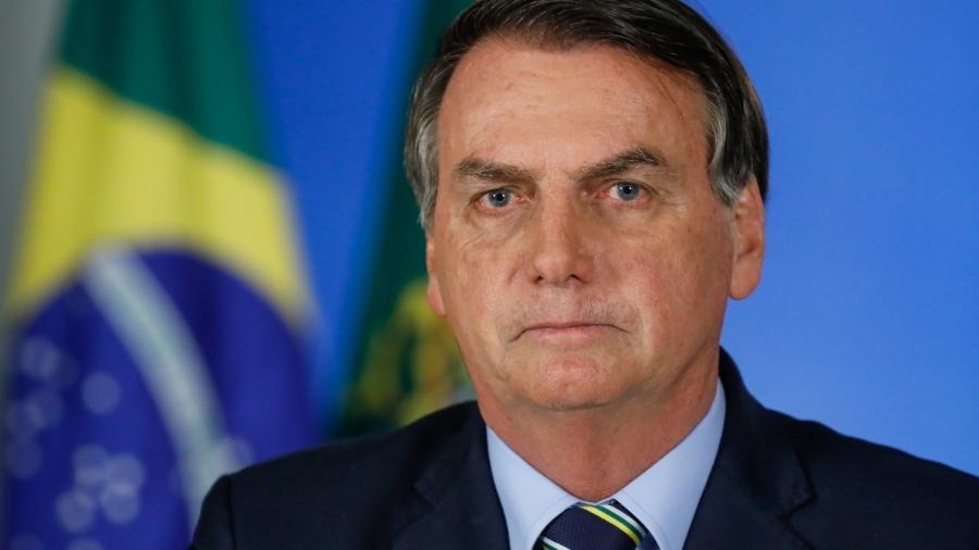 O presidente Jair Bolsonaro (sem partido) - ISAC NóBREGA/PR