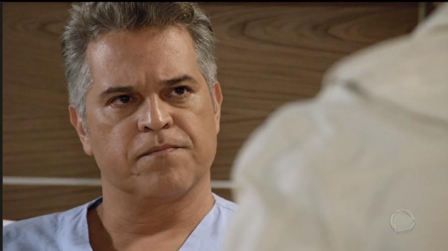 Juan Alba é Ramiro em Amor Sem Igual (Foto: Reprodução/Record TV) - Reprodução/Record TV