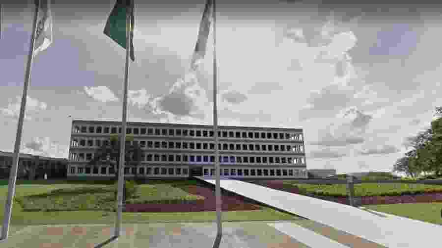 Sede do TCU - Google Maps