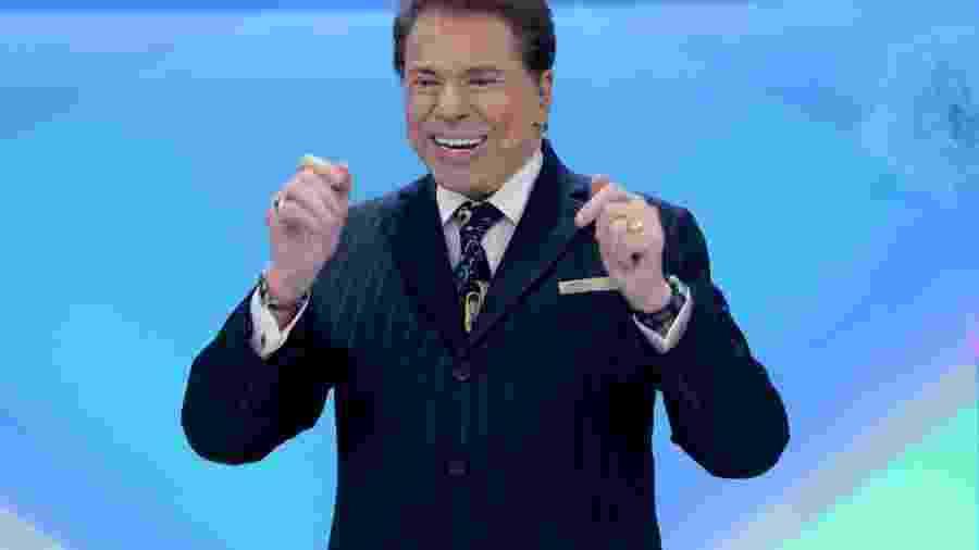 Silvio Santos está afastado dos estúdios por causa do coronavírus - Divulgação/SBT