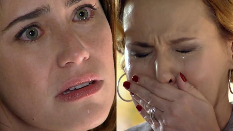 Fernanda Vasconcellos e Ana Beatriz Nogueira são Ana e Eva em A Vida da Gente (Reprodução - Globo) - Reprodução / Internet