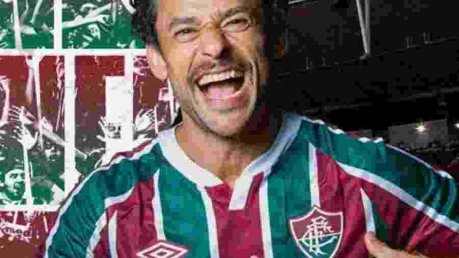 Fred retorna ao Fluminense quase quatro anos depois de ter deixado o clube                              -                                 Reprodução/Twitter