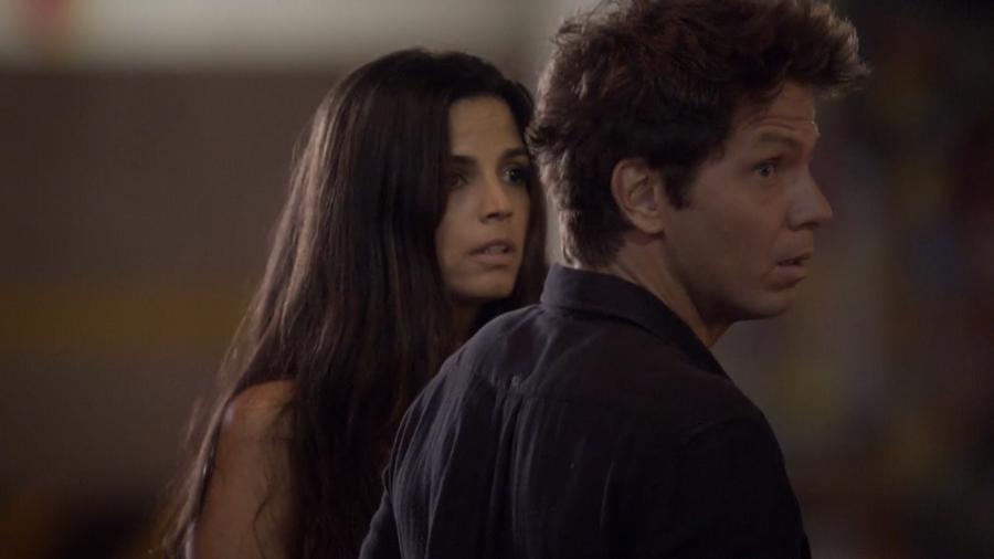 Dandara (Emanuelle Araújo) e Renê (Mário Frias) em Malhação (Reprodução/Globo) - Reprodução / Internet