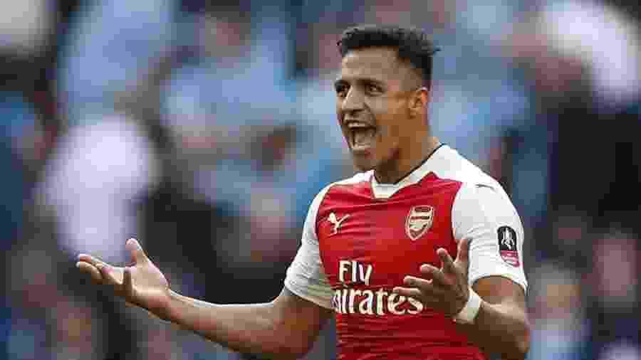 Alexis Sanchez não está a venda, afirma o arsenal - John Sibley Livepic/Reuters