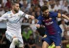 """Sergio Ramos: ?Não surpreende que deem pênaltis ao Barça e para nós não"""" - Foto: CURTO DE LA TORRE/AFP"""