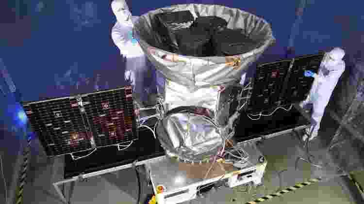 Tess - Satélite Tess busca de exoplanetas, numa missão que deve ir pelo menos até 2022 - Satélite Tess busca de exoplanetas, numa missão que deve ir pelo menos até 2022