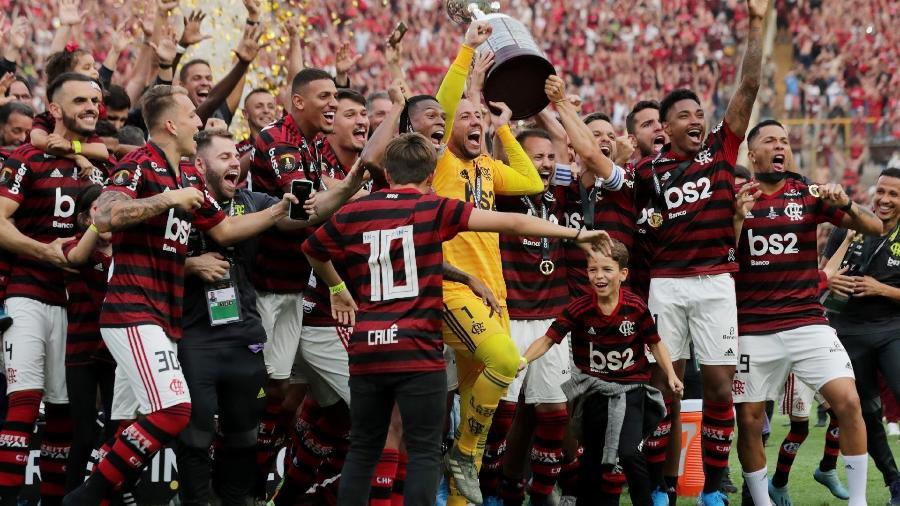 Premiação da Copa Libertadores e do próprio Mundial criam debate interno no Flamengo - Divulgação
