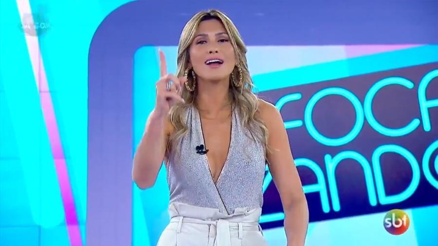 Lívia Andrade no Fofocalizando (Reprodução/SBT) - Reprodução/SBT