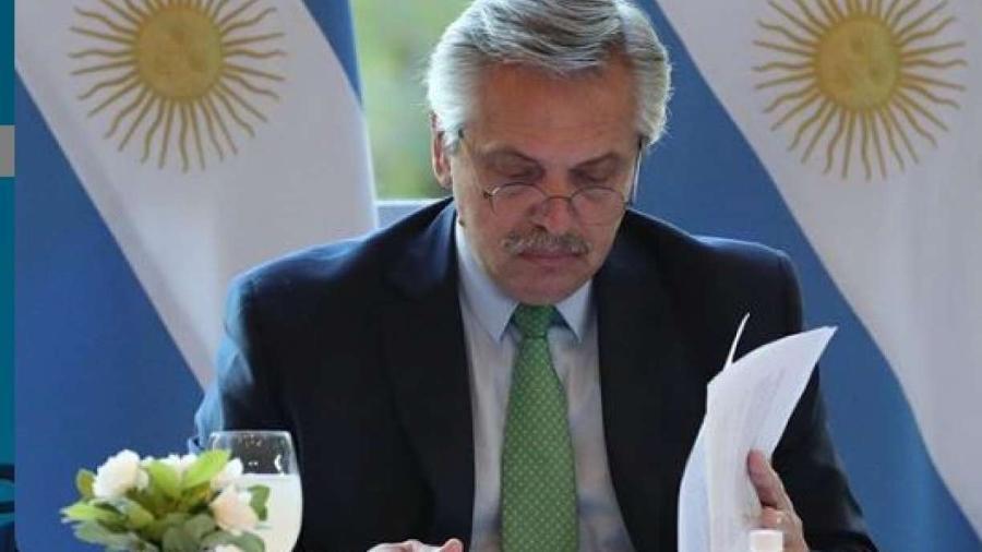 Em Paris, presidente argentino diz que compartilha com França preocupação com Amazônia -                                 REPRODUçãO/INSTAGRAM