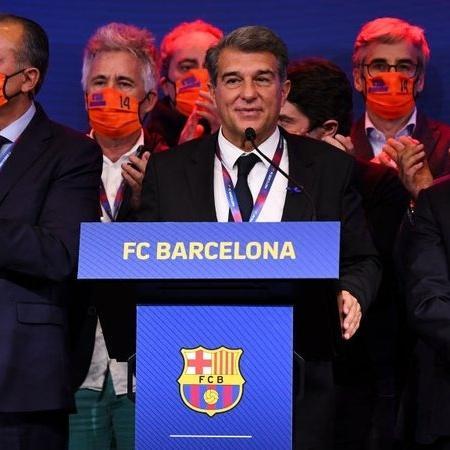 Laporta, do Barça, enfrenta uma das maiores dívidas de clubes - GettyImages