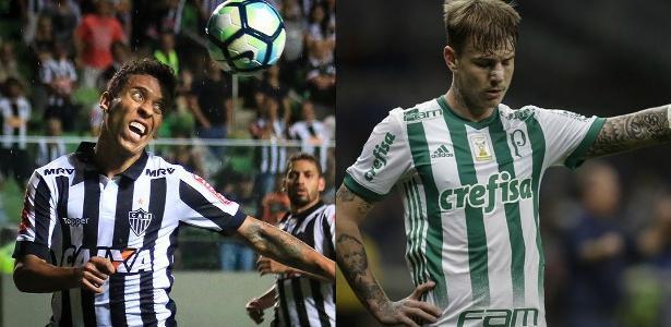 Marcos Rocha jogará no Palmeiras em 2018, enquanto Guedes irá ao Galo