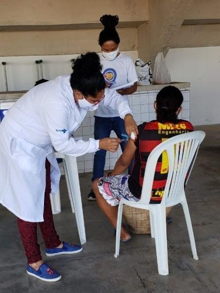 Vacinação em Olinda                              -                                 DIVULGAÇÃO