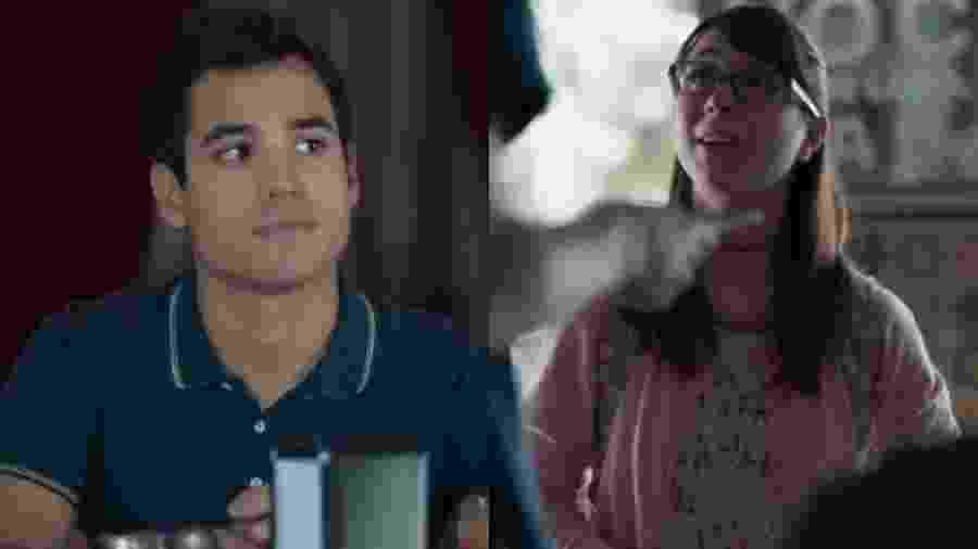 Guto (Bruno Gadiol) e Benê (Daphne Bozaski) de Malhação - Viva a Diferença (Reprodução - TV Globo) - Reprodução / Internet