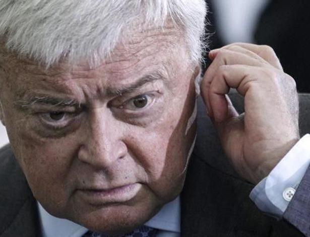 Ricardo Teixeira foi presidente da CBF entre 1989 e 2012 e hoje é acusado de corrupção