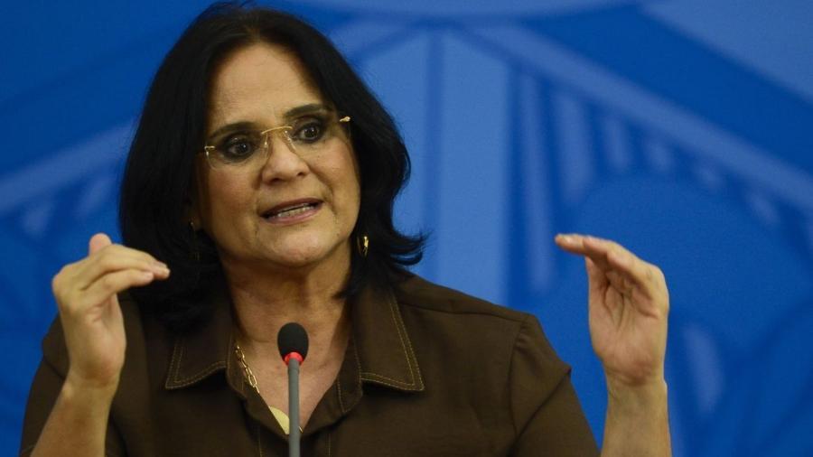 A ministra da Mulher, Família e Direitos Humanos, Damares Alves - Agência Brasil