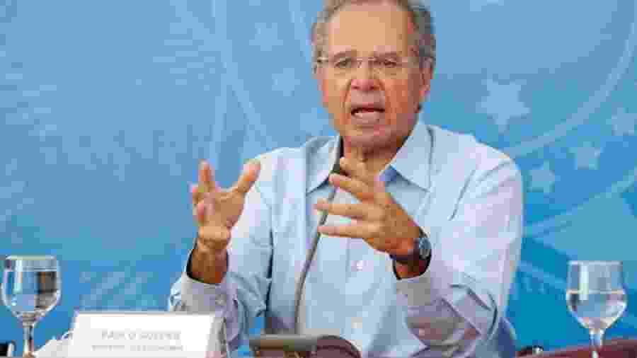 O ministro da Economia, Paulo Guedes - Alan Santos/PR