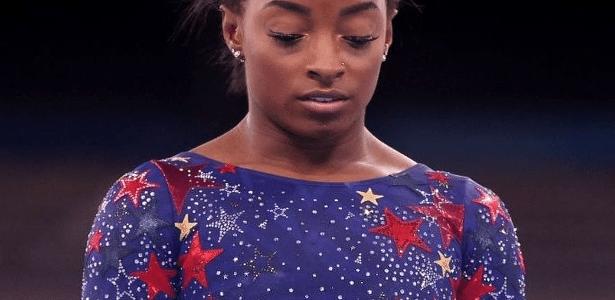 Simone Biles decidiu desistir das Olimpíadas em Tóquio para cuidar da saúde mental