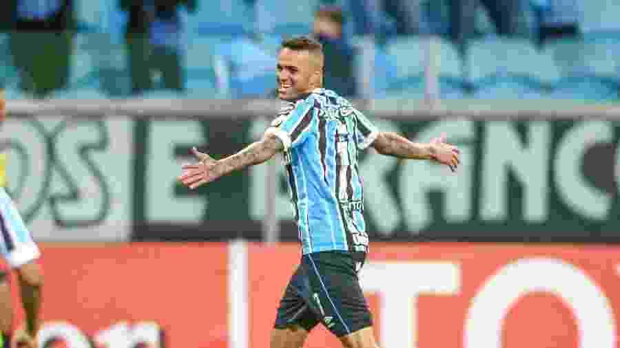 Luan marcou o gol do Grêmio contra o Defensor na vitória da última quarta-feira -