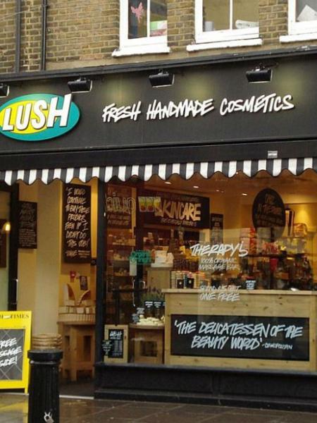 Loja da Lush no exterior: saudades? - Divulgação