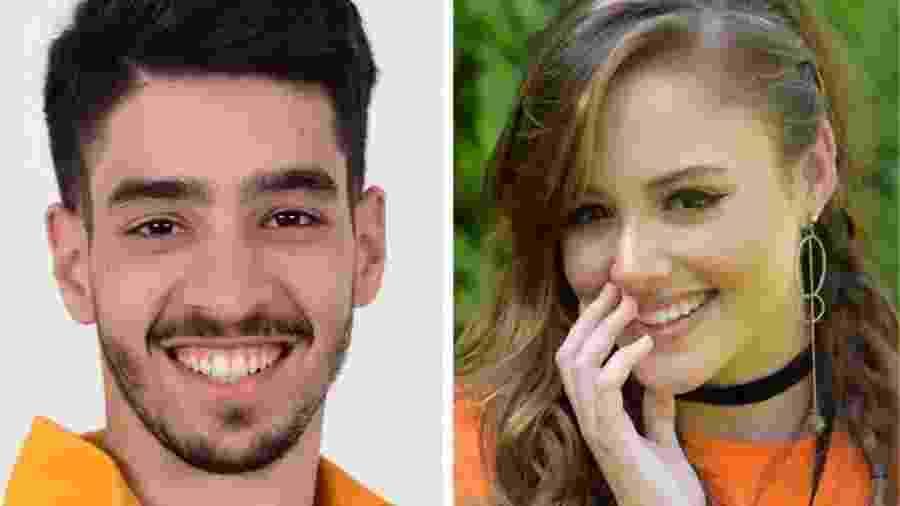 Peppe (Mateus Costa) e Rosa Flor (Brendha Sabryna) em Amor Sem Igual (Foto: Divulgação/Record TV) - Divulgação/Record TV