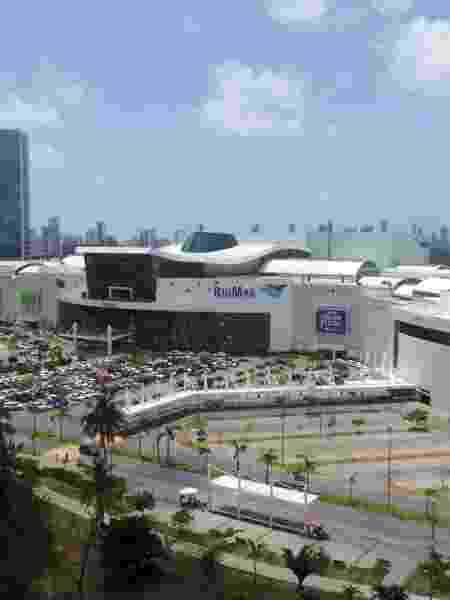 Vista aérea do RioMar Shopping, em Recife                              - ARNALDO CARVALHO/JC IMAGEM