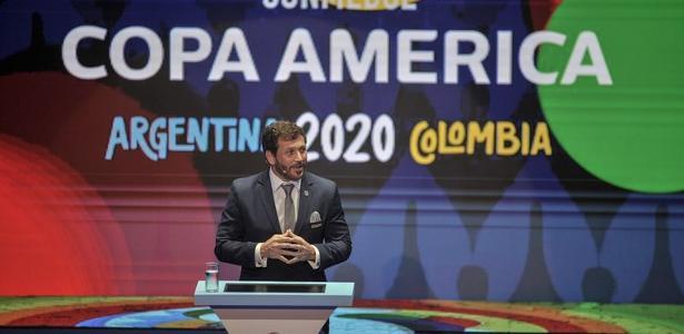 Notícia: Rodrigo Mattos - Conmebol já prevê Copa América com 10 times e desiste de convidados