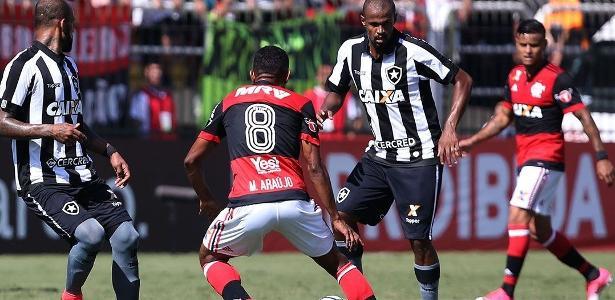 Airton se lesinou em partida diante do Flamengo
