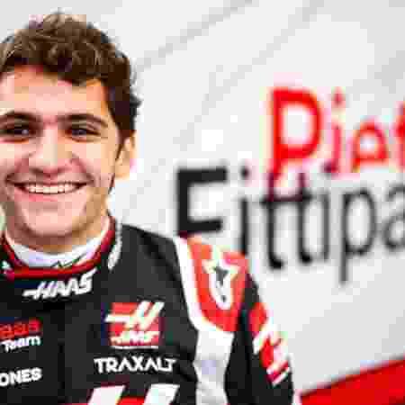"""Substituto de Grosjean, Pietro Fittipaldi se prepara para estreia na Fórmula 1: """"Empolgado"""" - Divulgação/Haas"""