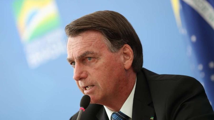 """Bolsonaro, sobre lockdown: """"Como é que fica a economia?"""" -                                 MARCOS CORRêA/PR"""
