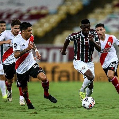 Fluminense e River Plate se enfrentam pela Libertadores-21 no Maracanã - LUCAS MERÇON / FLUMINENSE F.C / Flickr