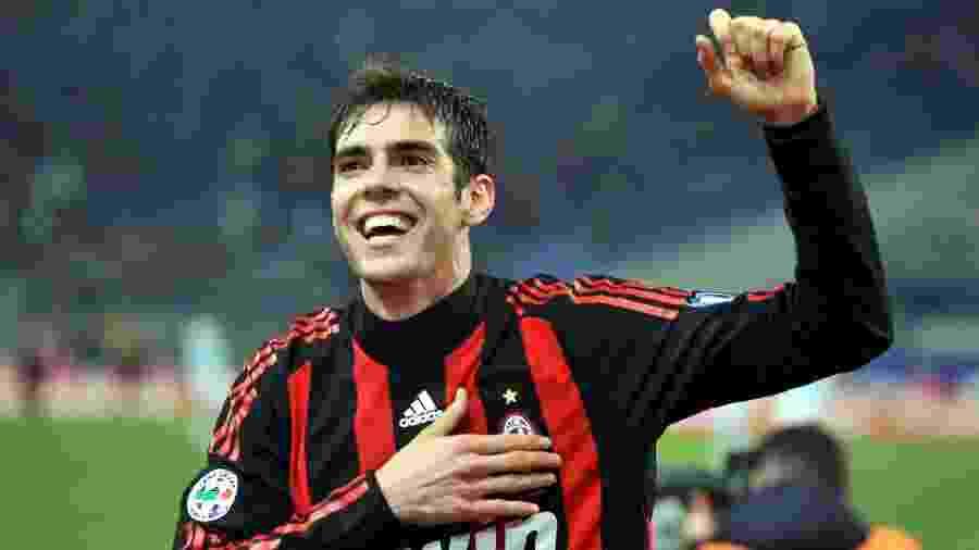 Onze anos após negócio, venda de Kaká ao Real Madrid ainda é a maior da história do Milan - New Press/Getty Images