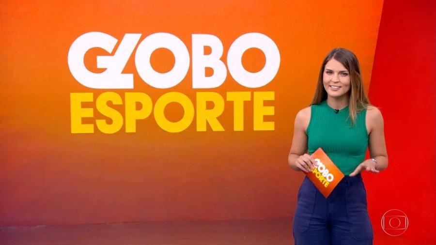 Gabriela Ribeiro no Globo Esporte: repórter fará sua primeira cobertura de evento internacional na Copa América 2021 - Reprodução / Internet