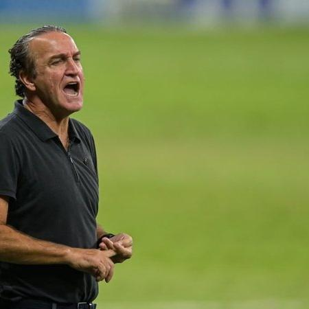 O treinador Cuca, no comando do Atlético - GettyImages