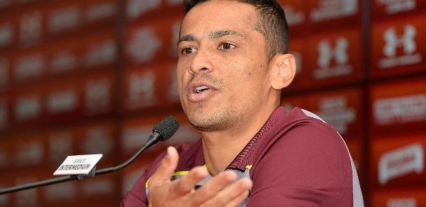 Cícero acertou a rescisão do seu contrato com o São Paulo