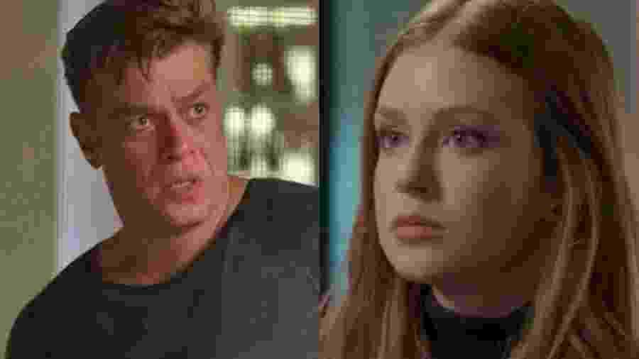 Arthur (Fábio Assunção) e Eliza (Marina Ruy Barbosa) de Totalmente Demais (Reprodução - TV Globo) - Reprodução / Internet