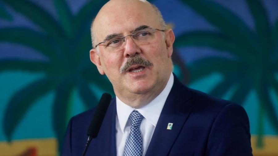 Milton Ribeiro, que diz ser o ministro da Educação - Isác Nóbrega/PR