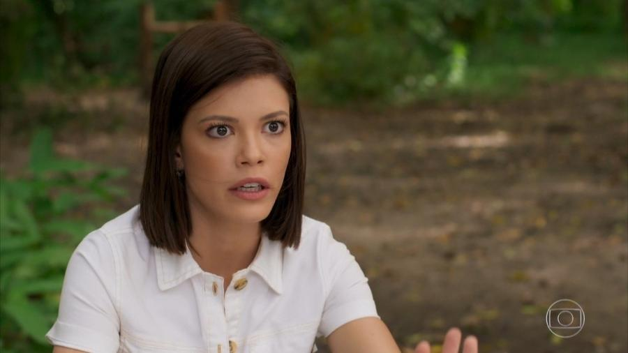 Kyra (Vitória Strada) em Salve-se Quem Puder (Reprodução/TV Globo). - Reprodução/TV Globo