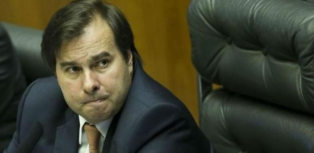 Por ser presidente da Câmara (DEM-RJ), Rodrigo Maia não precisou votar na sessão