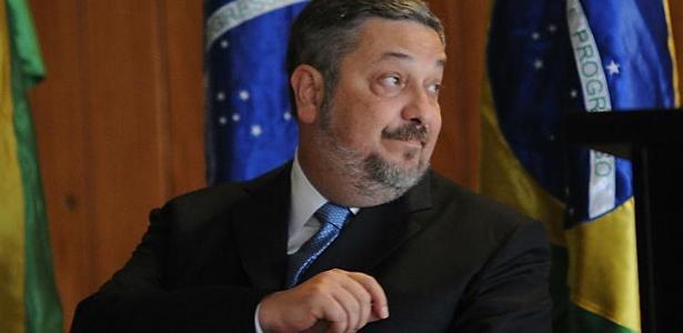 O ex-ministro do PT Antonio Palocci, condenado por corrupção e lavagem de dinheiro