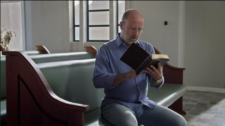 Pastor Jonas (Murilo Grossi) em Apocalipse (Foto: Reprodução/Record TV) - Reprodução / Internet