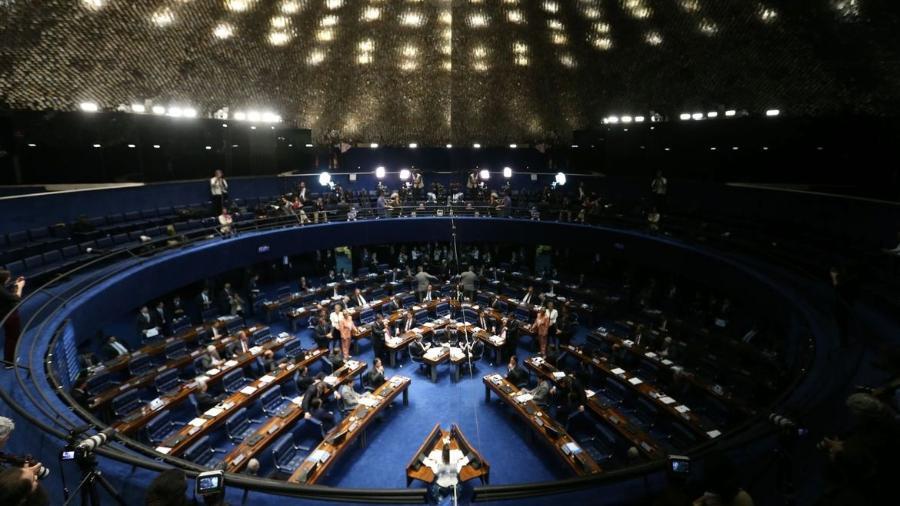 Plenário do Senado.  - Fabio Rodrigues Pozzebom/Agência Brasil