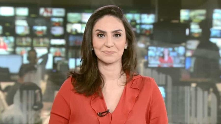 A jornalista Cecília Flesch, da GloboNews - Reprodução / Internet