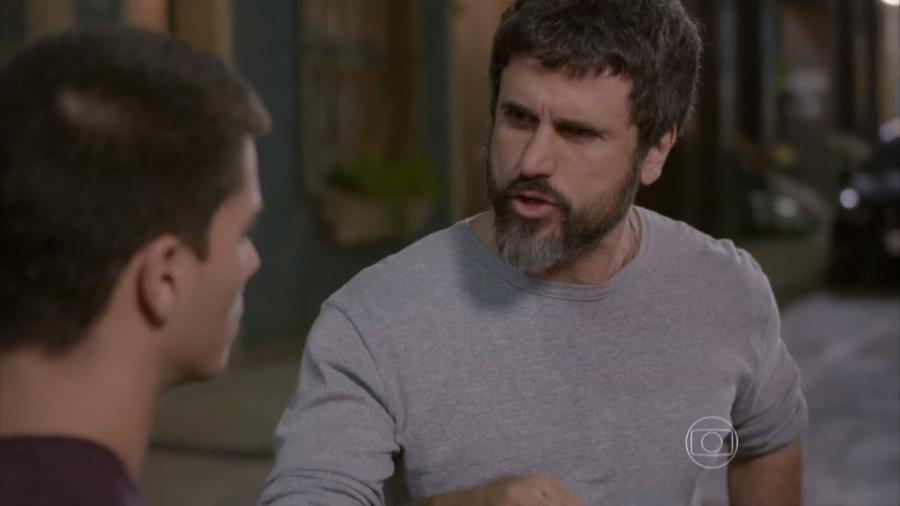 Duca (Arthur Aguiar) e Gael (Eriberto Leão) em Malhação - Sonhos (Reprodução / Globo) - Reprodução / Internet
